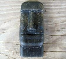 Orgone Moai human head Statue Easter Island Tiki God Spiritual Energy Generator