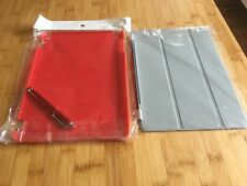 iPad Air Cases/Covers/Bundle - X 3 JOB LOT - BRAND NEW - RED - FREE POSTAGE