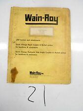 Wain Roy Rigidjaw Manual Case 680h Extendable
