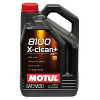 MOTUL 8100 X-CLEAN+ 5W30 SYNTHETIC ENGINE OIL 5 LITRES 5L
