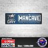 Carlton Dry Banner - The Mancave Bar Beer Spirits Shed Aussie man shed straya