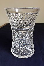 Waterford Crystal Vase Vintage Signed 03414