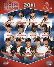 Boston Red Sox 2011 Licensed Team Composite Photo, 8x10