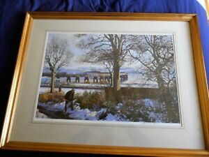 James McIntosh Patrick Print-Clearing Spring Snow, Rare Signed,Ltd Edition,No.70