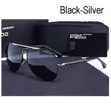 Sunglasses Polarized Porsche Luxury Designer Men Metal Frame 2017