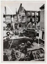 18x13cm Heinrich Hoffmann archivio ORIGINALE FOTO 1940 WWII wk2 carri armati Press Photo