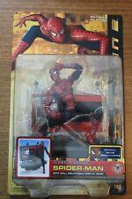 Super Poseable Magnetic Spider-Man 2 figure wall mountable display MIB Toybiz