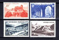 France 1949 Yvert n° 841A à 843 neuf ** 1er choix