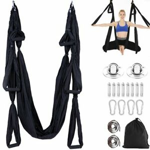 Aerial Yoga Swing Set Trapeze Yoga Hammock Kit Ultra Strong Antigravity