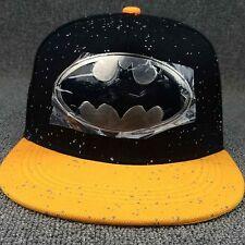 Comics Baseball Adjustable Batman Superman Snapback Hat Cap HipHop Unisex