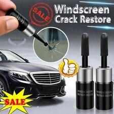 2x Automotive Glass Nano Repair Fluid Car Window Glass Crack Chip Repair Tool US