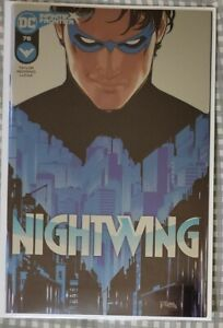 NIGHTWING 78 WONDERCON FOIL VARIANT NM 2021 🔥1ST MELINDA ZUCCO REVEALED TO BE..