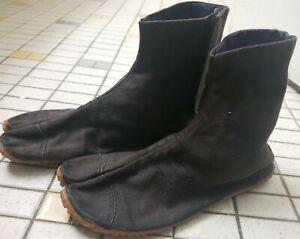 Japanese JIKA TABI Boots Ninja Shoes Socks High Tops SZ21.5-US4.5 Kids Adults