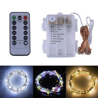5M 50LED Christmas Wedding Xmas Party Outdoor Decor Fairy String Lights Lamps