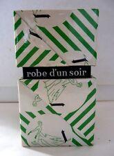 """ANCIEN COFFRET DE PARFUM """"ROBE D'UN SOIR"""" DE CARVEN / BOITE FACTICE"""