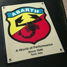 Abarth Turin Italy logo badge sign ....Fiat Bertone Autobianchi