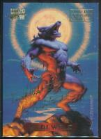 1994 Marvel Masterpieces Gold Signature Trading Card #135 Werewolf
