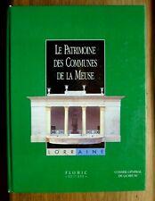 29223 Patrimoine des Communes de la Meuse tome 1 / FLOHIC Inventaire des Cantons