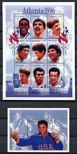 NICARAGUA 1996 Olympiade Olympics Atlanta Sieger  3777-85 + Block 262 **