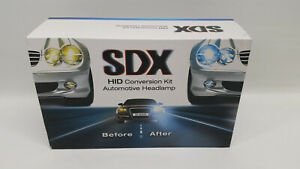 SDX HID Headlamp Conversion Kit Automotive Vehicle