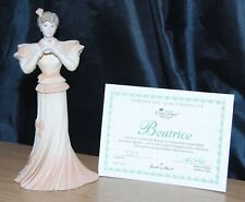 Coalport & Danbury Mint Beatrice Figurine Elegant Ladies Collection
