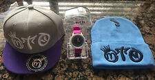 Miguelito's New Hot Fashion Snapback, Watch and Beanie 3 item