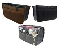 3 Pack Travel Makeup Cosmetic Bag Case Toiletry Beauty Organizer Zipper Holder