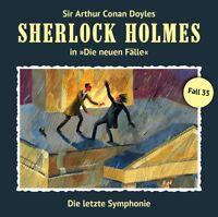SHERLOCK HOLMES - DIE LETZTE SYMPHONIE (NEUE FÄLLE 35)   CD NEU FREUND,MARC