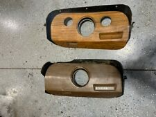 Vintage 1969 - 70 Ford Mustang Mach 1 Dash Clock Bezel Panels - Used