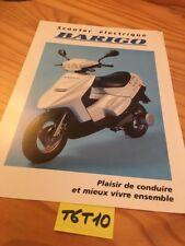Barigo scooter électrique prospectus brochure publicité prospekt catalogue pub
