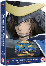 Sengoku Basara - Samurai Kings: The Complete Series 1 and 2  DVD NEW