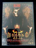 RARE Diablo II Lord of Destruction Expansion Brazil (Brasil) PC MINT CONDITION