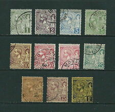 Used Postage Monacan Stamps