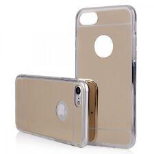"""Coque Housse Bumper """" Effet Miroir """" Iphone 7 Plus ( 5.5  Pouces ) Or"""