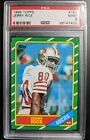 1986 Topps Jerry Rice RC #161  PSA 9 MINT   *Discount Available, Read/Contact*