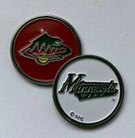 New NHL Minnesota Wild Golf Ball Marker