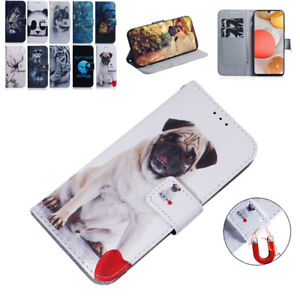 For Samsung Galaxy A32 A12 A21S A11 A71 5G Luxury Case Flip Wallet Phone Cover