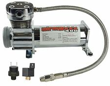 Air Compressor Chrome AirMaxxx 400 For Air Bag Suspension System 165 On 200 Off