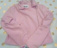 NWT The Edit By Seventeen Pink Knit Moto Jacket Medium Trendy Zip Front $69