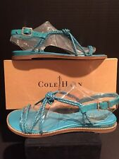 Cole Haan Phoebe Sandal ll Caribbean Size 8.5 New In Box