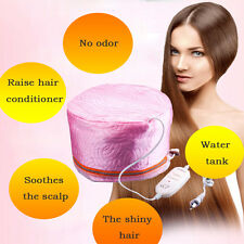 Heating Steam Electric Hair Cap Steamer Oil Hat Styling Beauty Care Thermal New