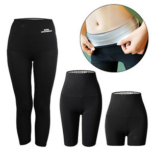 Abnehmen Sporthose Damen Sport Leggings Damen Neopren Gewichtsverlust Sauna Hose