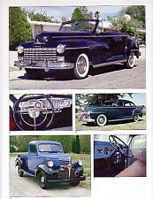 1946 Dodge + Convertible + Pickup Truck Article - Must See !!