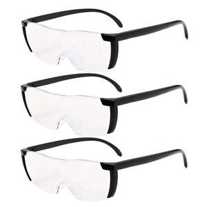 3pc Pro Big Vision Magnifying Presbyopic Glasses Seen On TV 160% Eyewear Reading