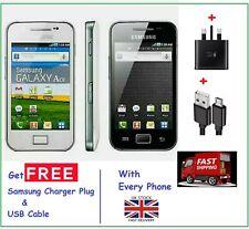 BRAND New  Samsung Galaxy Ace GT-5830i- BLACK WHITE USB 3G-Unlocked Mobile Phone