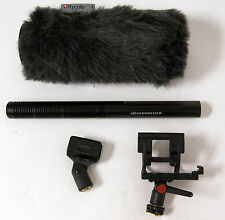 Sennheiser MKH 60 Shotgun Microphone w/ Rycote Softie & Shock Mount Kit