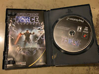 PS2 Star Wars: The Force Unleashed (Sony PlayStation 2, 2008) Complete