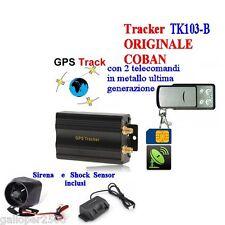 TK103-B TK104 ANTIFURTO GPS LOCALIZZATORE TRACKER TELECOMANDO SENSORE MOVIMENTO
