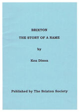 Brixton Local History - The Story of a Name