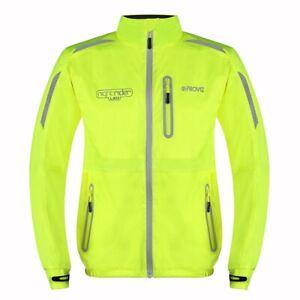 Proviz Nightrider LED Reflective Men's Cycling Jacket Yellow Size Small Hi Viz